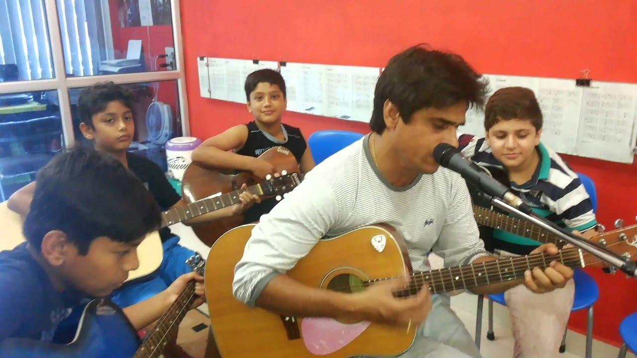 Bhar do jholi meri ya from movie Bajrangi Bhaijaan and singer Adnan Sami ( guitar chords ...