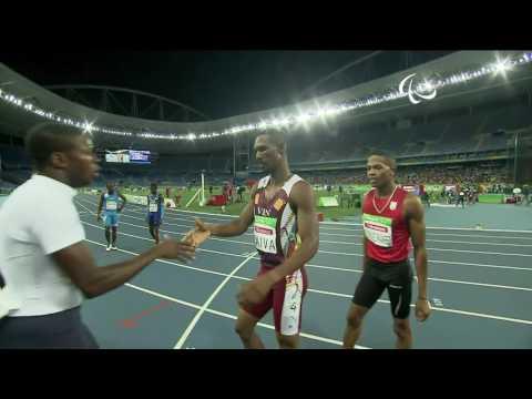 Athletics | Men's 400m - T20 Round 1 heat 2 | Rio 2016 Paralympic Game