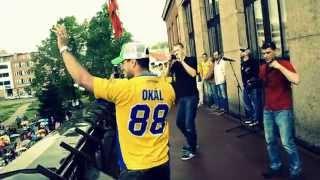 Město na nohou děkuje hokejistům PSG Zlín k získání poháru