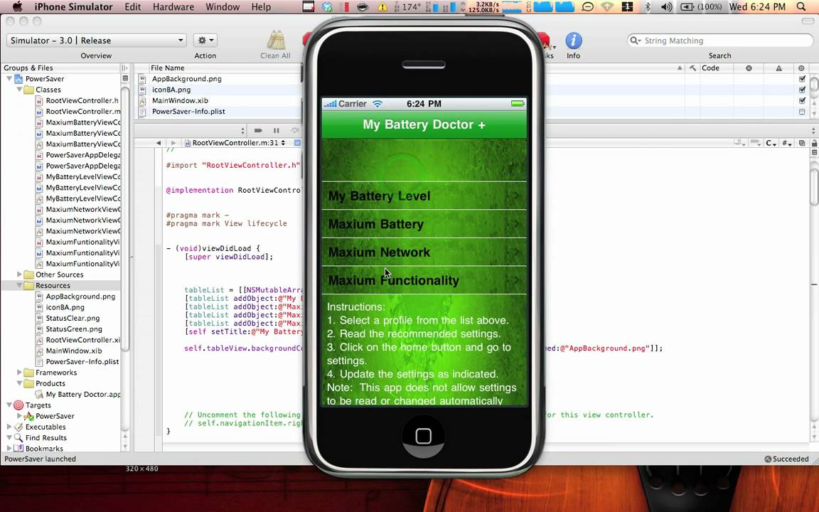 Background image xcode 6 - Xcode Tutorial How To Add A Nice Background Image A Table View Youtube