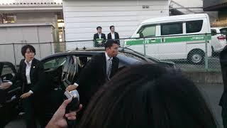 太平洋島サミット2018 安倍総理 帰京前 湯本駅
