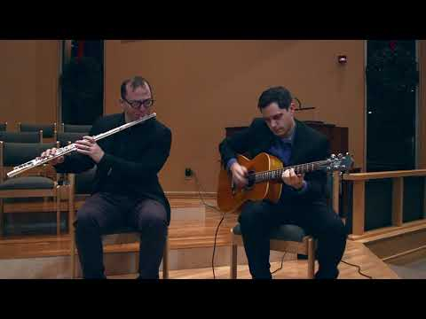 Lua Branca - Alto Flute & Guitar