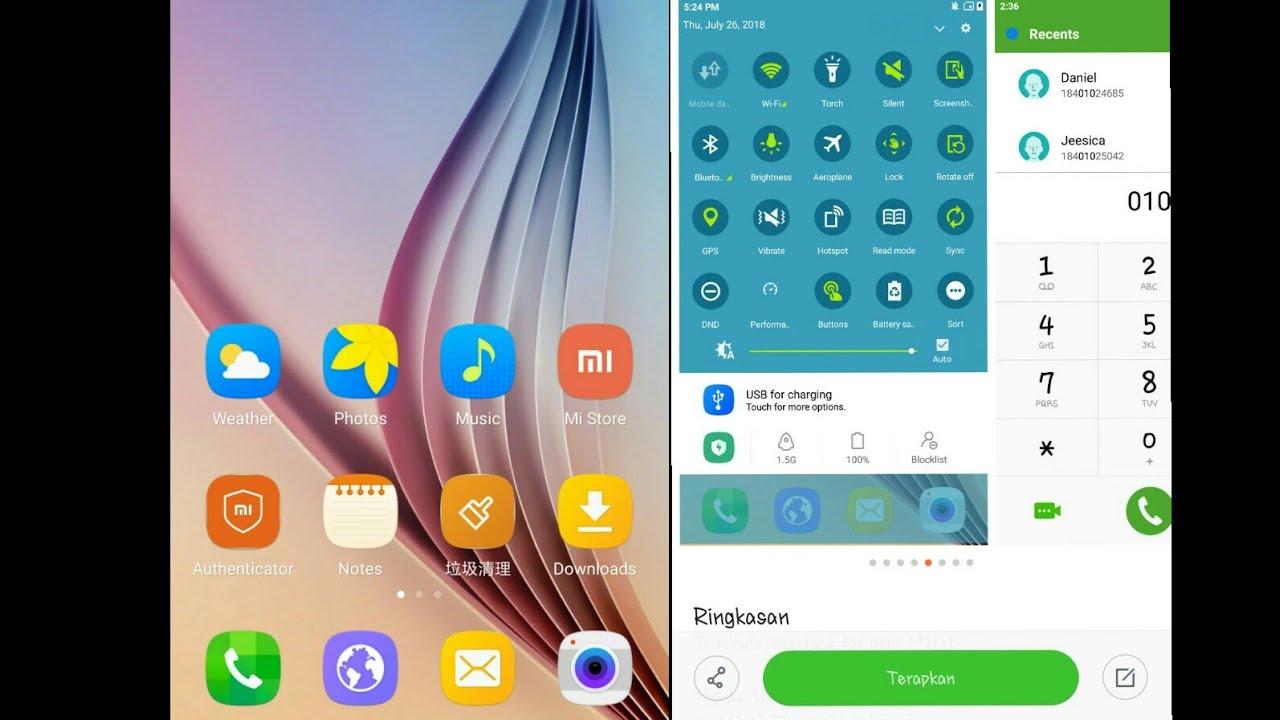 Tema Samsung Buat Xiaomi 99 Mirip Sampai Ke Akar Akarnya