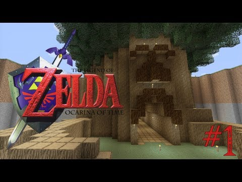 Legend of Zelda - Minecraft Adventure Map Ep 1 w/DOWNLOAD