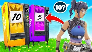 MATCH The VENDING MACHINE Number in Fortnite!