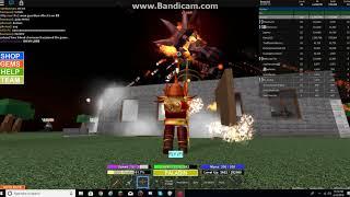 Roblox Field Of Battle: Got legendary Mithril during the demon round