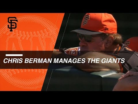Chris Berman joins Giants as guest manager