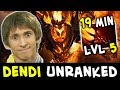 When you meet Dendi in UNRANKED — LOL Shadow Fiend BUILD