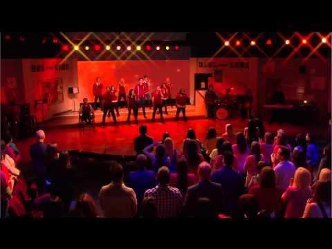 Glee - Somebody To Love (Oprah 07.04.2010) HD-720P