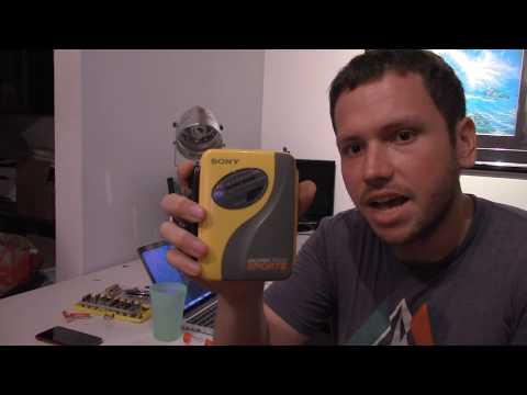 Replacing Belts In A Sony Sports Walkman ( Wm-sxf30 - Wm-af59 )