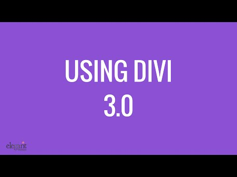 Divi 3 WordPress theme | Overview