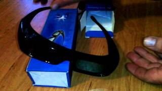 Universal Rechargeable Battery 3D IR Active Shutter Glasses 3D Glasses - Black TDG-236979