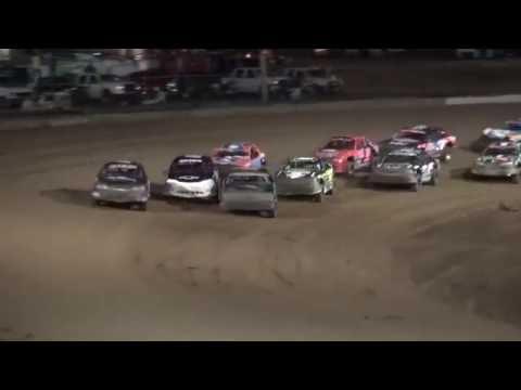 IMCA Stock Car feature Independence Motor Speedway 8/20/16