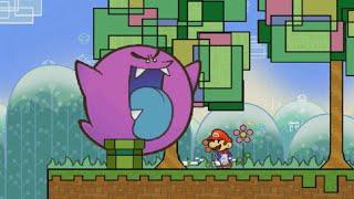 (TCRF) Super Paper Mario Unused Enemy Showcase