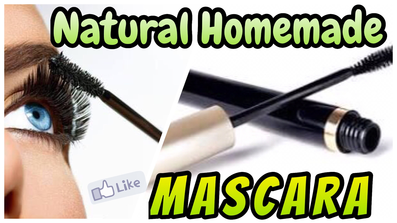 DIY Natural homemade Mascara | 100% Natural Mascara at home | Demo in Live Video