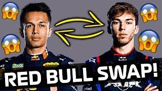 Reaction to GASLY BEING DROPPED & ALBON PROMOTED by Red Bull for the rest of the 2019 F1 Season!