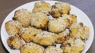 Быстрое творожное печенье с орехами - рецепт печенья для лакто-ово-вегетарианцев