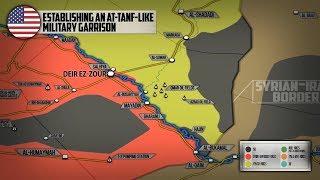 20 марта 2018. Военная обстановка в Сирии. Сообщения о создании новой базы США на востоке Сирии.