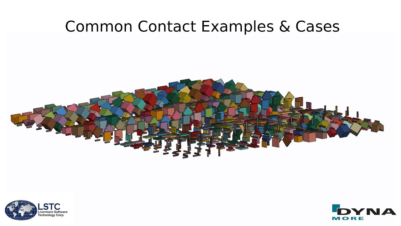 LS-DYNA: Common Contact Examples & Cases