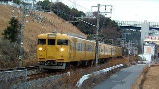JR西日本115系L-02編成 横川〜西広島