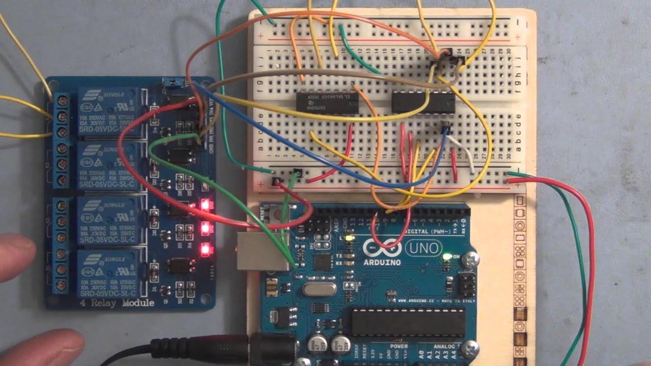 Arduino Relay Control Youtube Holding Current