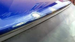 Octavia I - oprava počínající koroze střechy