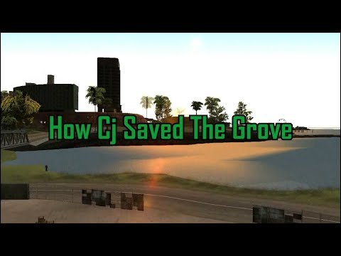 How Cj Saved The Grove Part (1)