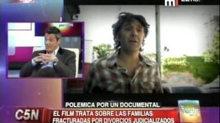 C5N - CINE:  POLEMICA POR EL DOCUMENTAL BORRANDO A PAPA