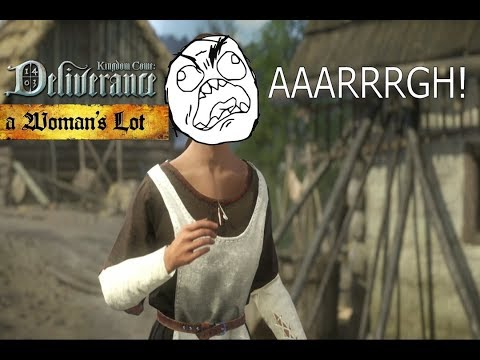 Most FRUSTRATING Quest EVER! - Highlights (A Woman's Lot DLC) |