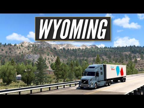 ATS - Wyoming Hidden Roads | American Truck Simulator - Open Beta 1.41 |  Toast