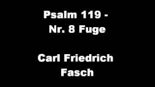 Gymnasium Neufeld - Carl Friedrich Fasch: Psalm 119 - Nr.8 Fuge
