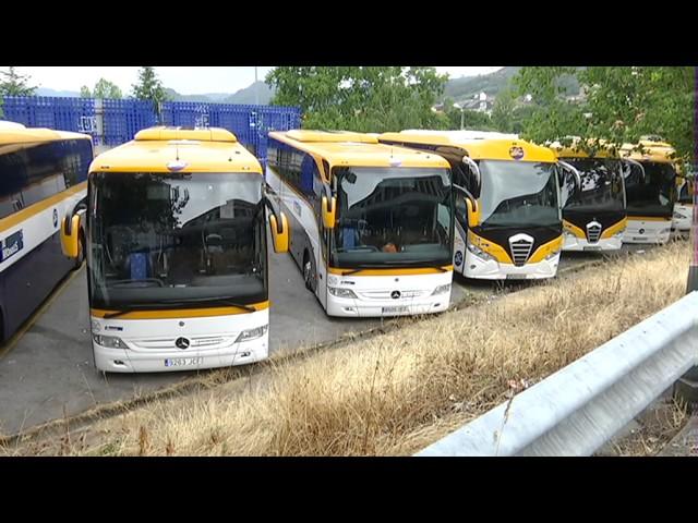 Tercera jornada huelga transporte de viajeros 27-06-17