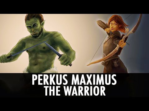 Skyrim Mod: Perkus Maximus - The Warrior