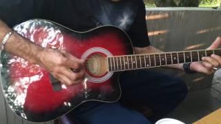 Памирская музыка на гитаре, памирец