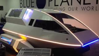 Blue Planet Lighting - Pixel Mapped Art Car for Burning Man
