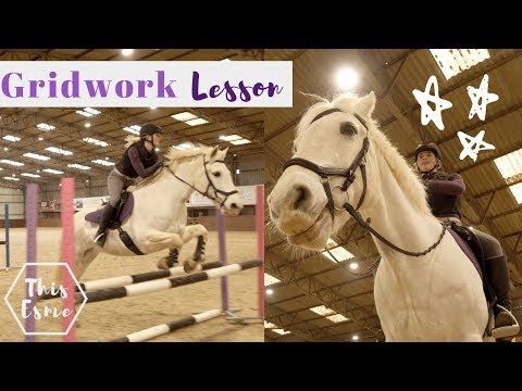 Gridwork Lesson, Horse Riding Voiceover + Giveaway | This Esme