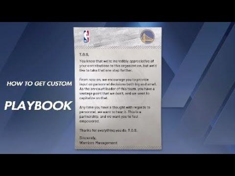 NBA 2K20 - HOW TO GET CUSTOM PLAYBOOK! BEST EVER MYCAREER ADVANTAGE