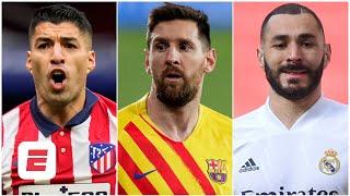 La Liga Predictor! Atletico Madrid, Barcelona & Real Madrid In The Hunt   ESPN FC