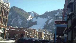 Downtown Aspen, CO Shopping and Sightseeing