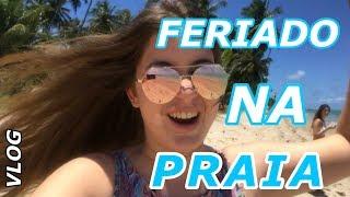 VLOG: FERIADO NA PRAIA (SEM INTERNET) | Sofia Santino