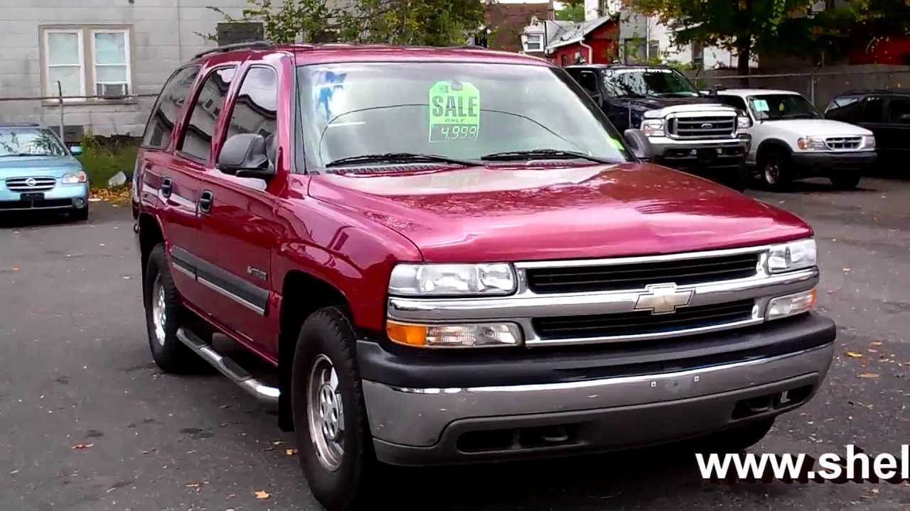 2001 Chevy Tahoe LS 4WD 5.3L V8 ONSTAR - YouTube