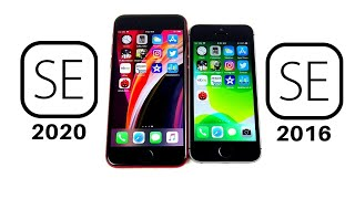 iPhone SE 2020 vs iPhone SE 2016 Speed Test!
