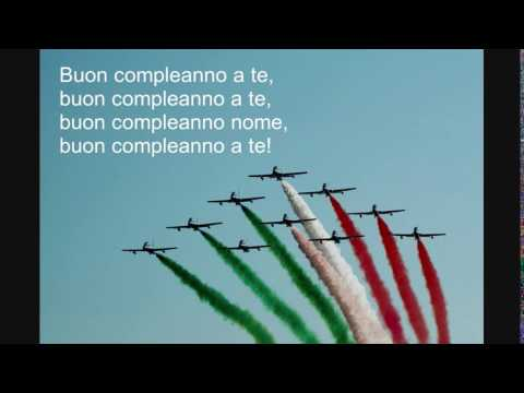 Buon Compleanno Testo - Italian Happy Birthday Lyrics