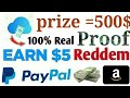 Money earnings apps PayPal payment proof cloud cash apps real earn money