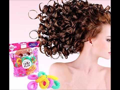 onwon new magic doughnut donut plastic hair curler curl ringlets