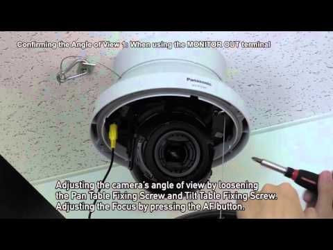 2.2 Easy Installation Of Panasonic's 4K Dome Camera
