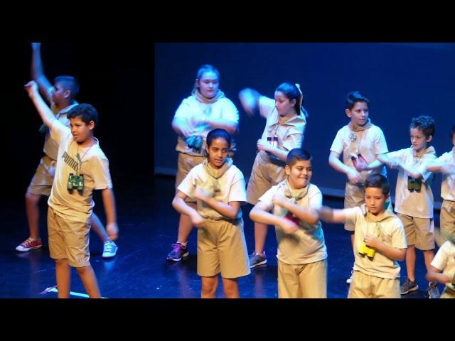 4t Primària - Frank de la Jungla - Festival Fi de Curs 2017-18 - CEIP Pintor Gimeno Barón
