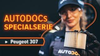 Underhåll Peugeot 308 I - videoinstruktioner
