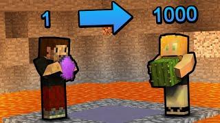 DALIŚMY ZA TO 1000 KAKTUSÓW... - Minecraft Wulkan