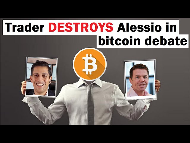 Trader DESTROYS Alessio Rastani in Bitcoin Debate | Bitcoin and Recession Analysis